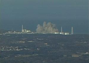 Fukushima : explosion